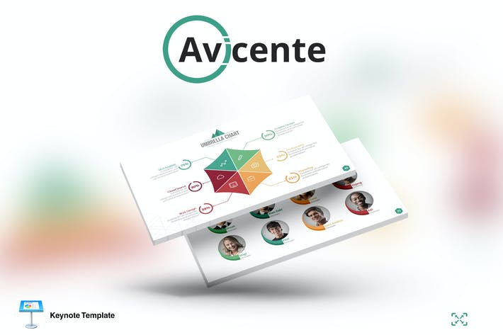 Thumbnail for Avicente - Keynote Template