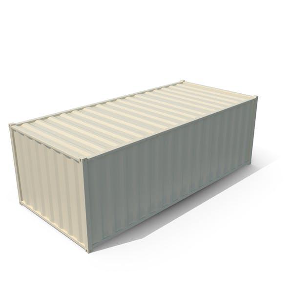 Container Storage Closed Door