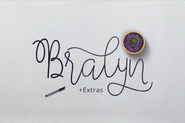 Thumbnail for Bralyn Script