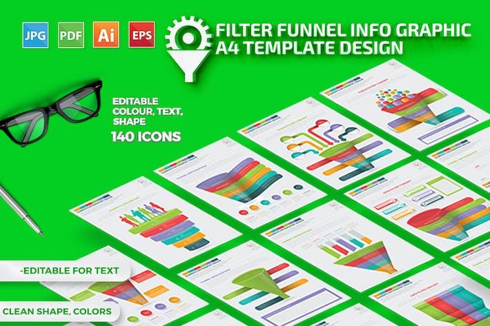 Cover Image For Дизайн Инфографика воронки фильтра