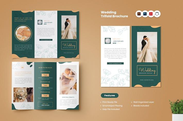 Thumbnail for Wedding Trifold Brochure