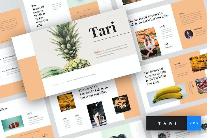 Thumbnail for Tari - Food Keynote Template
