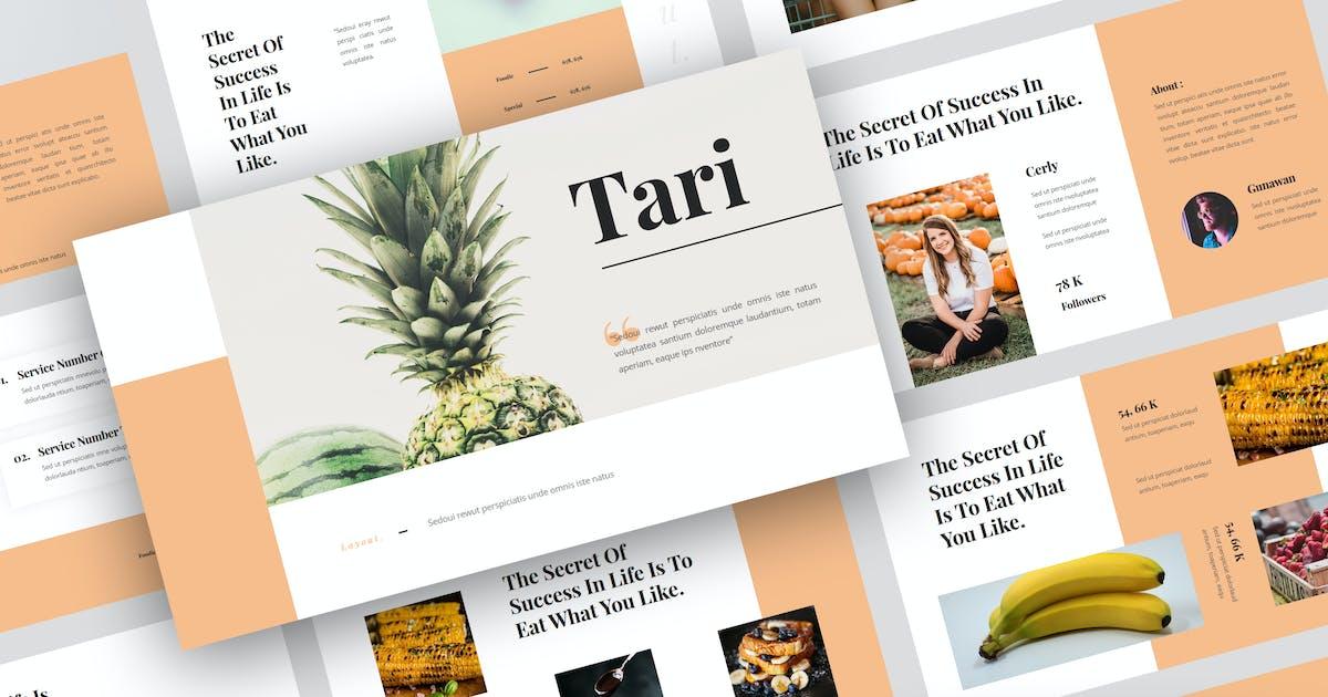 Download Tari - Food Keynote Template by StringLabs
