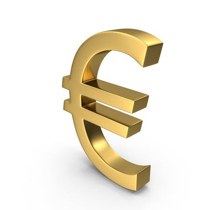 Currency Euro Gold