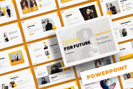 Dream for Future - Powerpoint Template