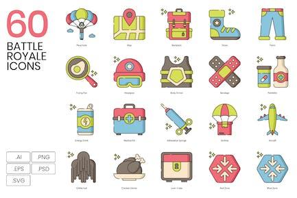 60 Иконки Королевской битвы