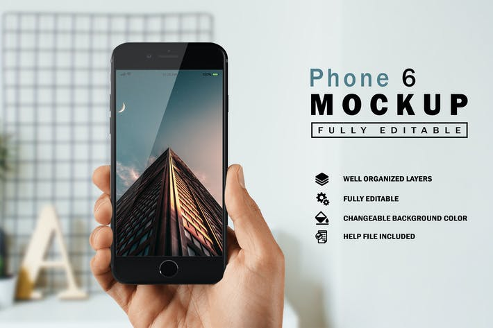 Thumbnail for Telefon 6 Mockup