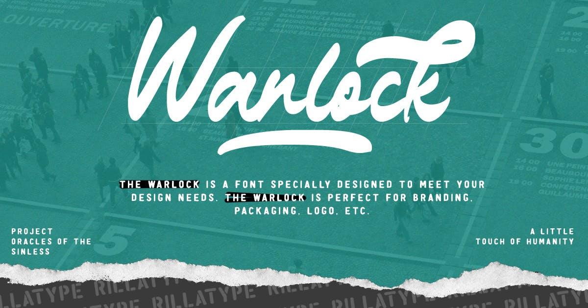 Download The Warlock - Bold Script by Rillatype