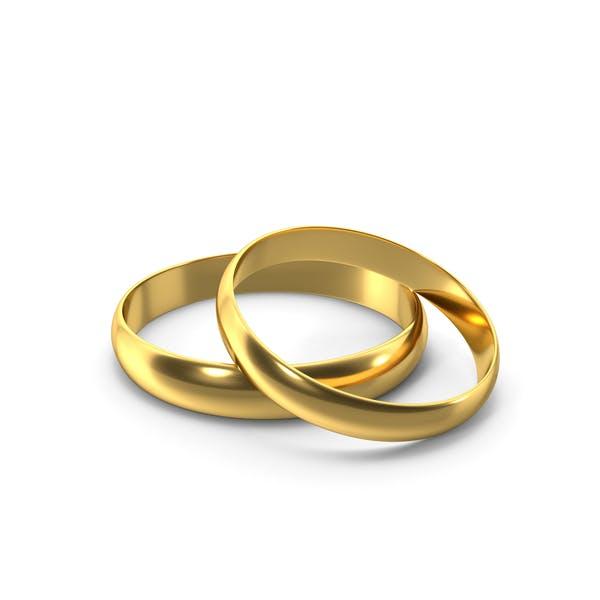 Gold Ring Pair