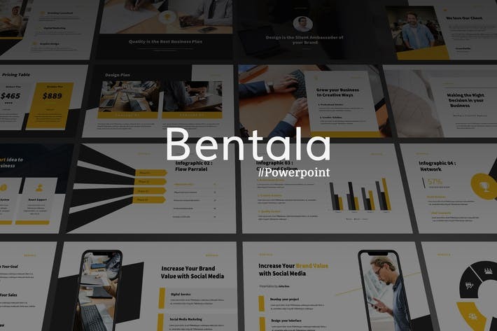 Thumbnail for Bentala - Modern Corporate Powerpoint Template