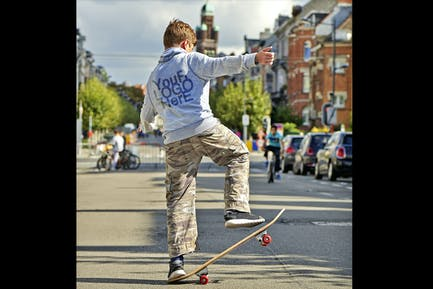 Placeit_Teenager on Skate