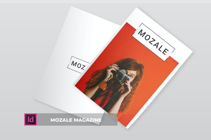 Thumbnail for Mozale | Magazine Template