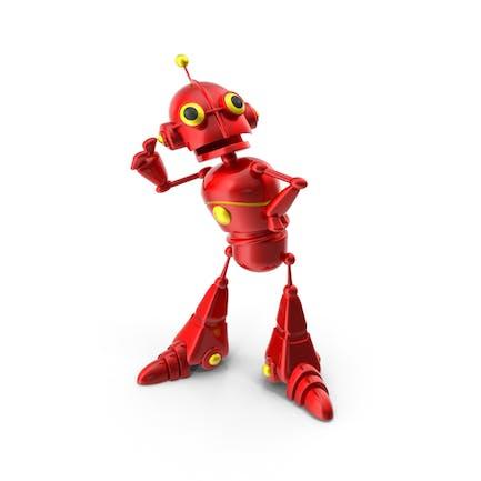 Cartoon-Roboter