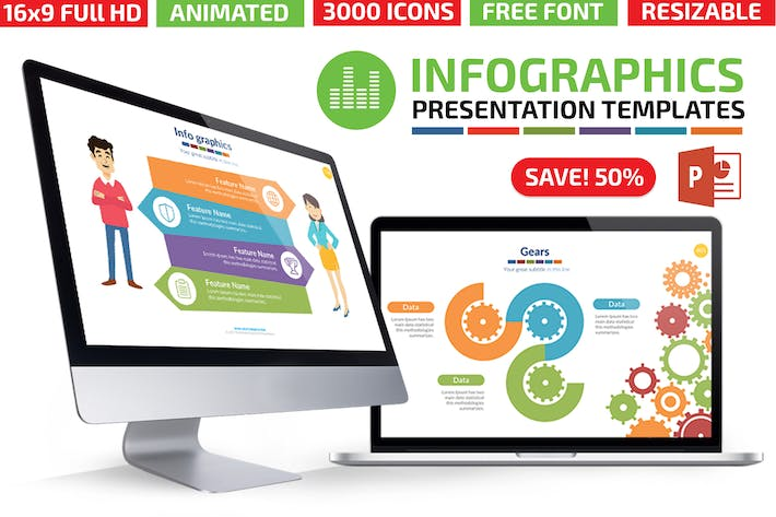 Cover Image For Infographics Powerpoint Presentation