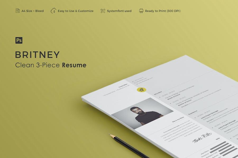 Resume | Britney