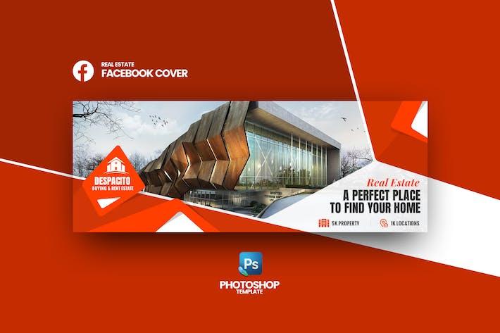Thumbnail for Despacito - Real Estate Facebook Cover Template