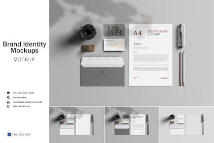 Marken-Identity-Mockup