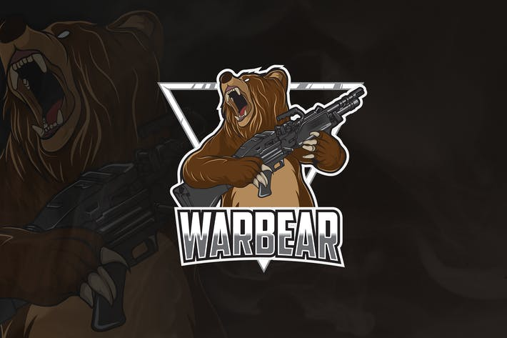 Thumbnail for Warbear - Mascot & Esport Logo