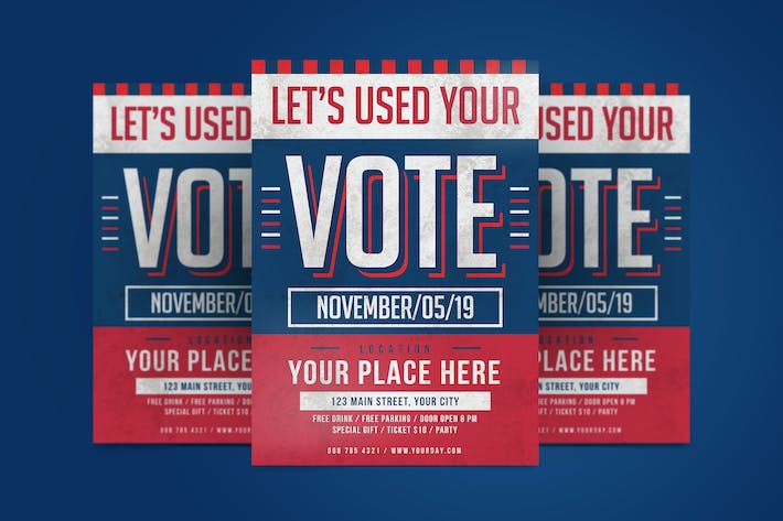 Thumbnail for Election Day Flyer