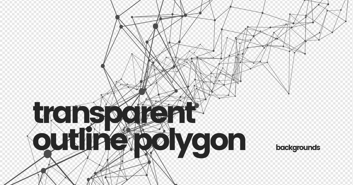 Download Transparent Outline Polygon Backgrounds by themefire