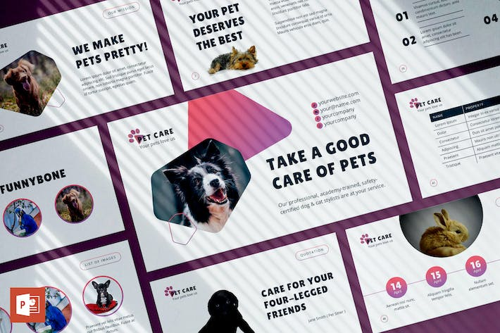 Thumbnail for Pet Care PowerPoint Presentation Template