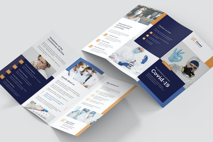 Thumbnail for Brochure – Medical Business Tri-Fold