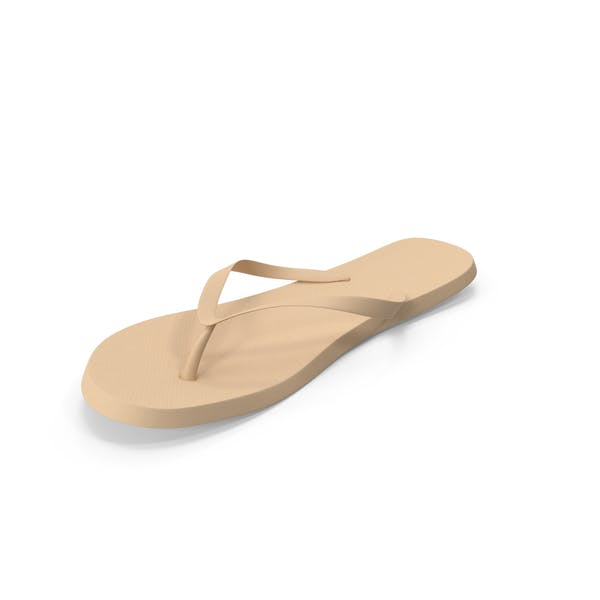 Men's Flip-Flop Beige