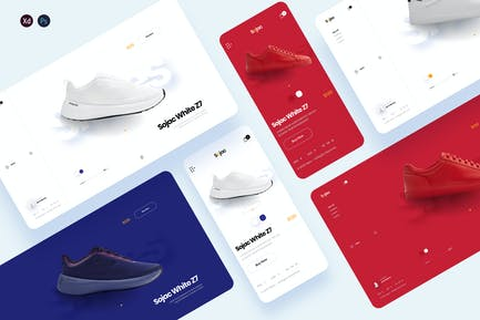Sojac - Shoes store ecommerce template