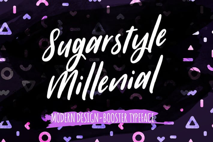 Thumbnail for Sugarstyle Millenial Police de caractères