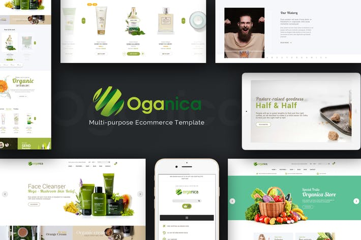 Thumbnail for Organica - Responsive WooCommerce WordPress Thème
