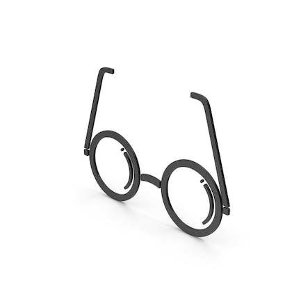 Symbol Glasses Black
