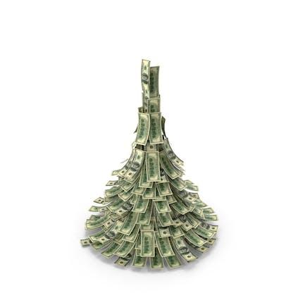 Рождественская елка доллара