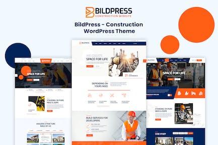 BildPress - Construction WordPress Theme + RTL