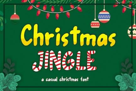 Christmas Jingle - Casual Christmas Font