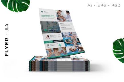 Children Hospital / Clinic Flyer Template