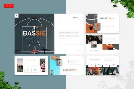 Bassie - Basketball Powerpoint Template