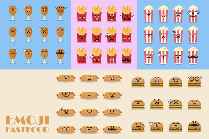 Thumbnail for Emoji Fast Food Icon