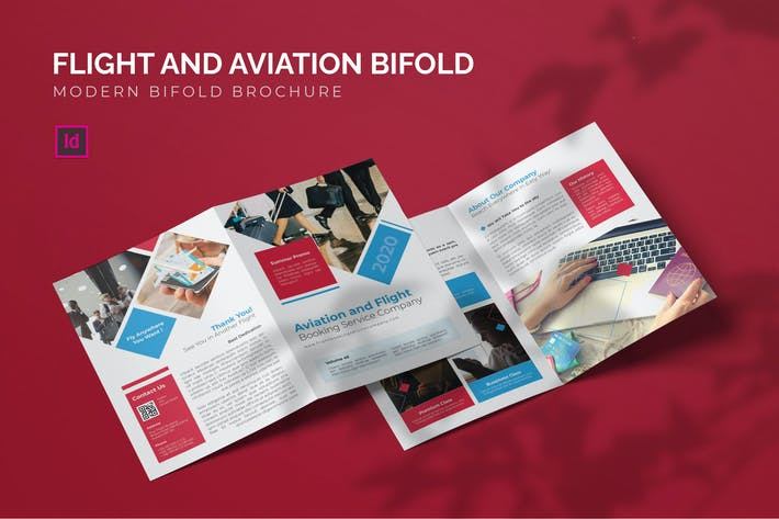 Thumbnail for Flight And Aviation - Bifold Brochure