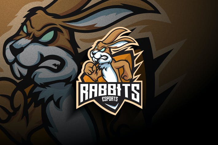 Thumbnail for Rabbit Esports - Mascot & Esport Logo