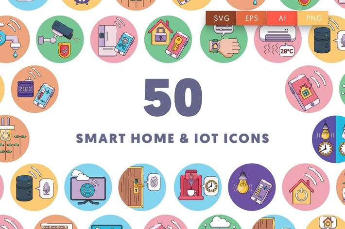 Thumbnail for 50 Smart home and IoT devices