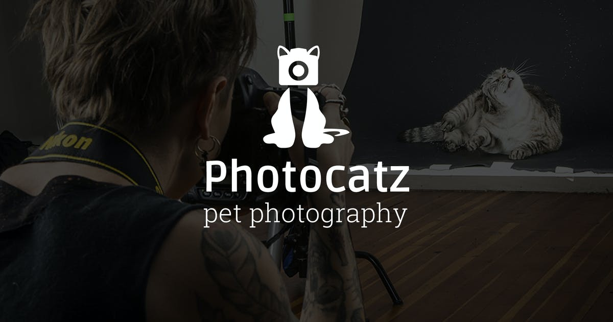 Download Photocatz : Pet Photography Logo by punkl