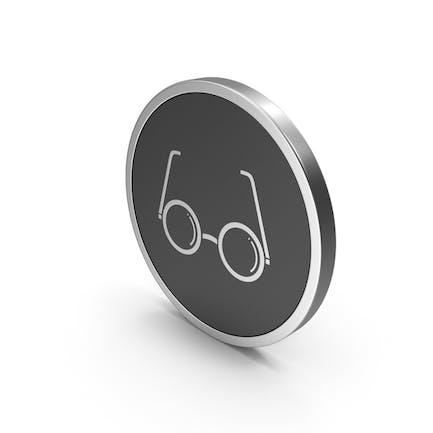 Silberne Icon-Gläser