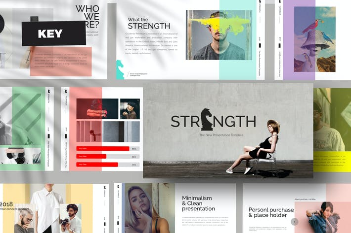 Thumbnail for STRENGHT White Keynote