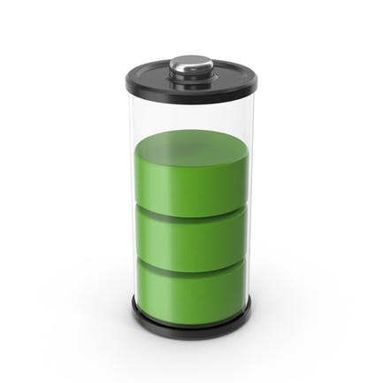 Battery Icon Green 75%