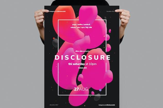 Disclosure Poster / Flyer
