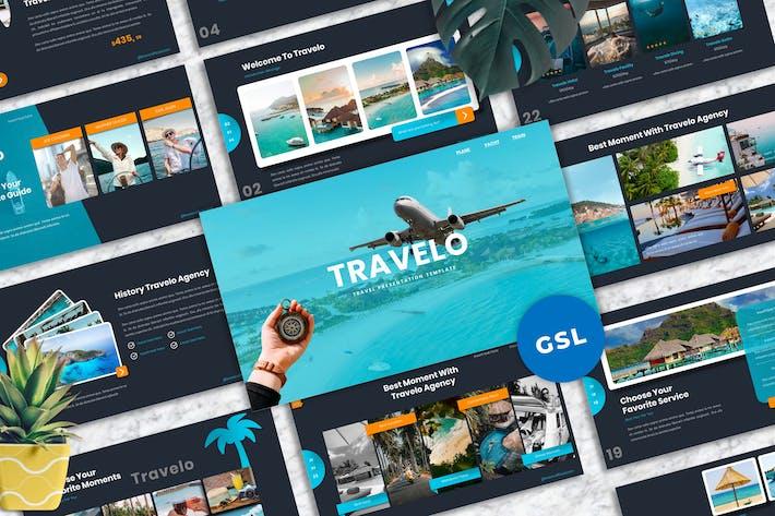 Thumbnail for Travelo - Путешествия Googleslide Шаблоны