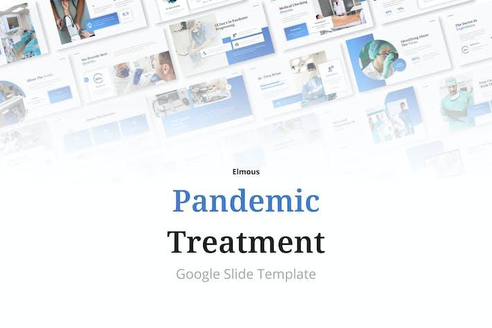 Pandemic Treatment - Medical Google Slides