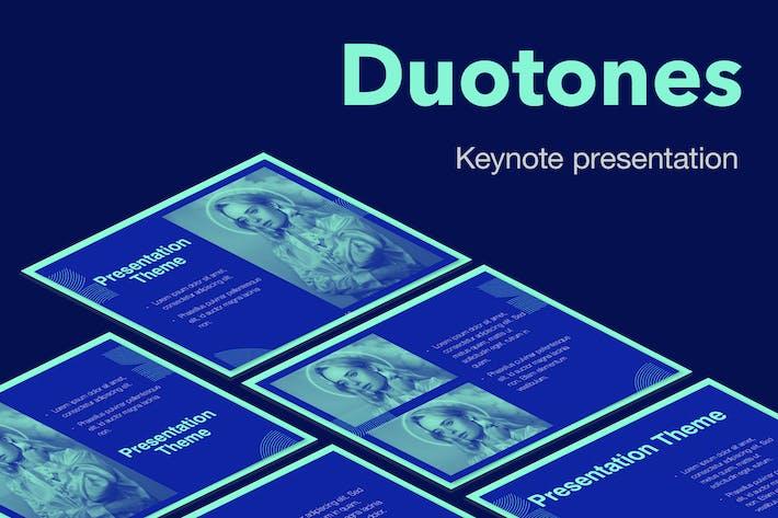Thumbnail for Тема Keynote дуотонов