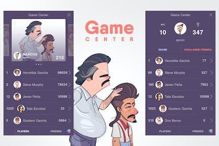 Game Center Screens