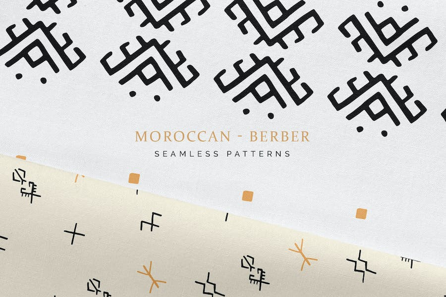 Moroccan Berber Seamless Patterns